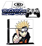 Richipy Stickers Naruto Uzumaki Designer Skin Game Console System p 2 Controller Decal Vinyl Protective Covers Stickers f Sony PlayStation 4