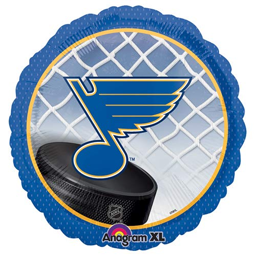 Anagram A1138 1 NHL St Louis Blues Hockey Team Foil Balloon, 18