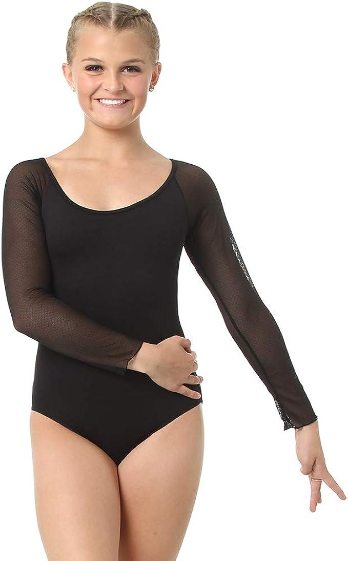 Sansha Lace Diamondback Zipfront Meryl Leotard RubyRed Ladies sizes only LE2516M