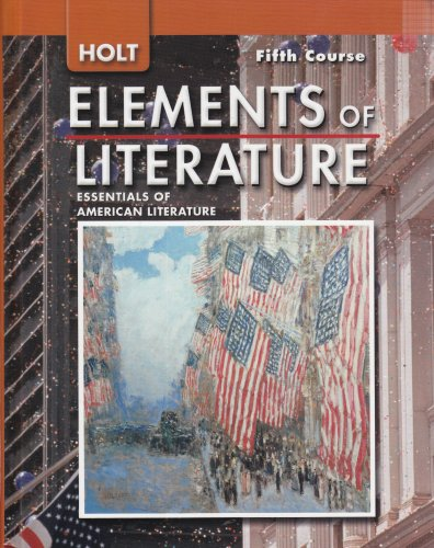 Essential Elements 2003 Book - Holt Elements of Literature:  Essentials of American Literature, 5th Course