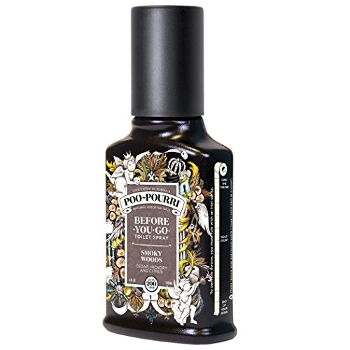Price comparison product image Poo-Pourri Smoky Woods 4 oz Custom Bottle