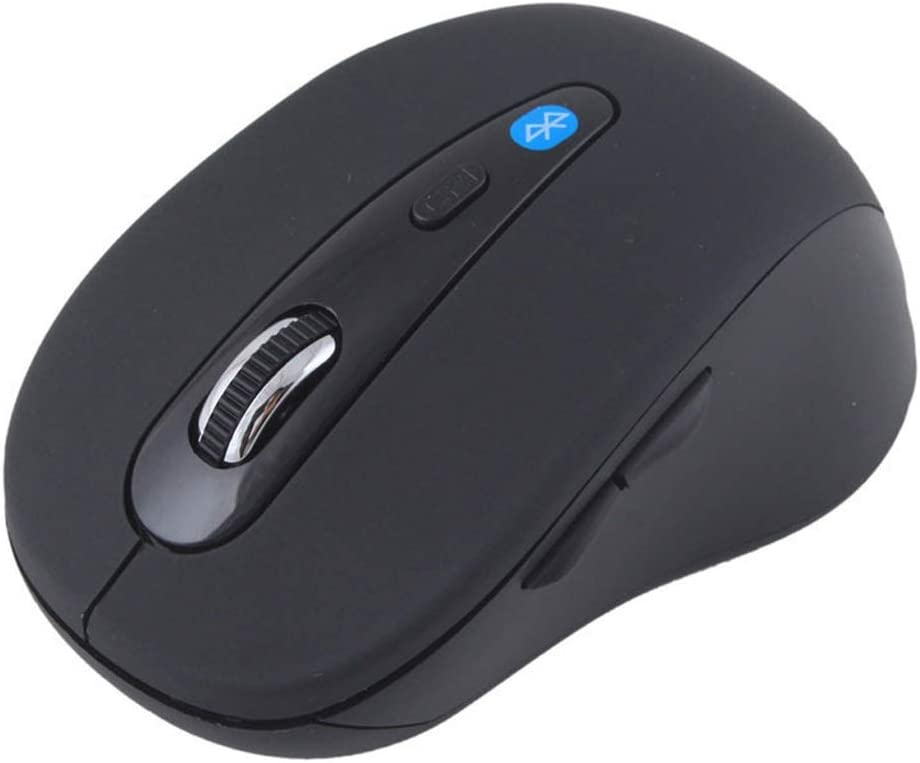 USB Port Feels Comfortable Wireless Computer Mouse Suitable for PC//Tablet//Laptop L110mm /× W60mm /× H40mm 3 Colors Mouse Mute and Smooth Color : Black