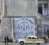 Photo: Hand painted mural promoting the revolution in Havana,Cuba