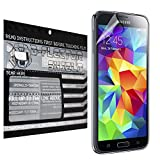 D-Flectorshield Samsung Galaxy S5 Plus Scratch Resistant Screen Protector - Free Replacement Program