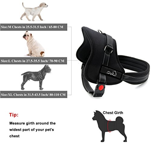 LifepulTM-No-Pull-Dog-Vest-Harness-Dog-Body-Padded-Vest-Comfort-Control-for-Large-Dogs-in-Training-Walking-No-More-Pulling-Tugging-or-Choking