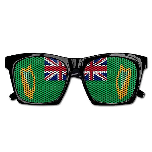 Flag Of British Ireland Party Sunglasses Mesh Lens Glasses Costume Sunglasses Eyewear For Groom Party Wedding - Eyewear British