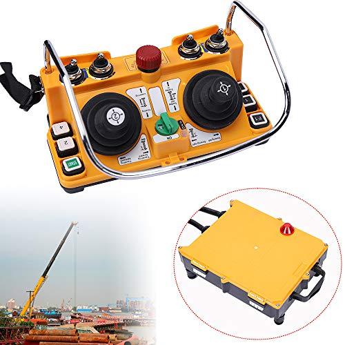 F24-60 24V Transmitter Receiver Industrial Remote Control Wireless Joystick Crane for Bridge Crane/Overhead crane/Chain Hoist/Monorails/Concrete Pump Truck/Mobile Lifting/Tower Crane