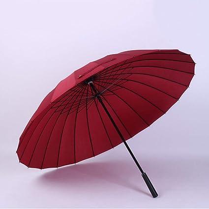 24K Paraguas Grande 2-3 Personas Usan el Paraguas de ...