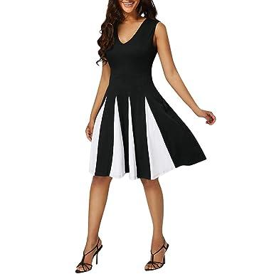 AMhomely Women Dresses Sale Women Gown Bridesmaid Dress Ladies Evening Party Cocktail Formal Dress Plus Size Dress Party Elegant Dress Vintage Dress UK Size