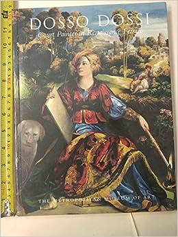 Book Dosso Dossi Court Painter In Renaissan C
