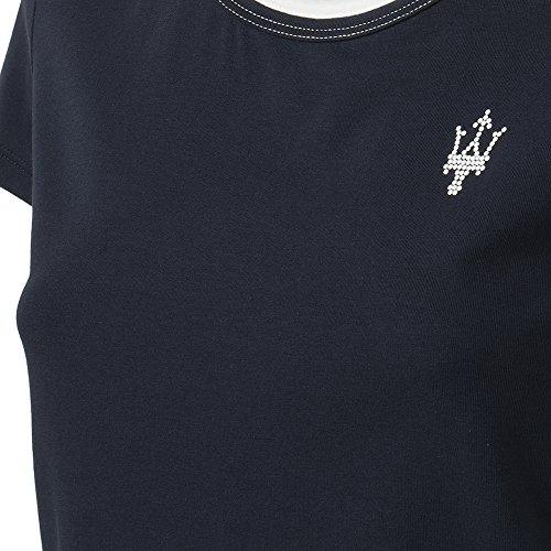 Maserati T-shirt Donna Blu/Bianca