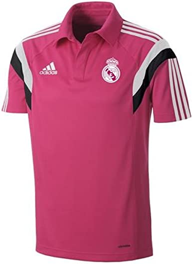 adidas 2014-2015 Real Madrid CL Polo Football Soccer T-Shirt ...