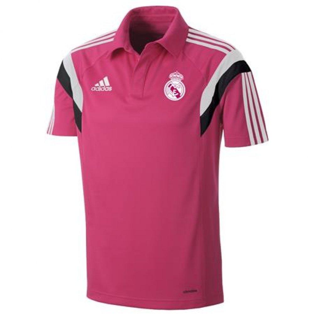 adidas 2014-2015 Real Madrid CL Polo Football Soccer T-Shirt ...