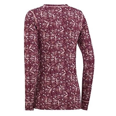 Kari Traa Women's Fryd Base Layer Top - Long Sleeve Synthetic Thermal Shirt at Women's Clothing store