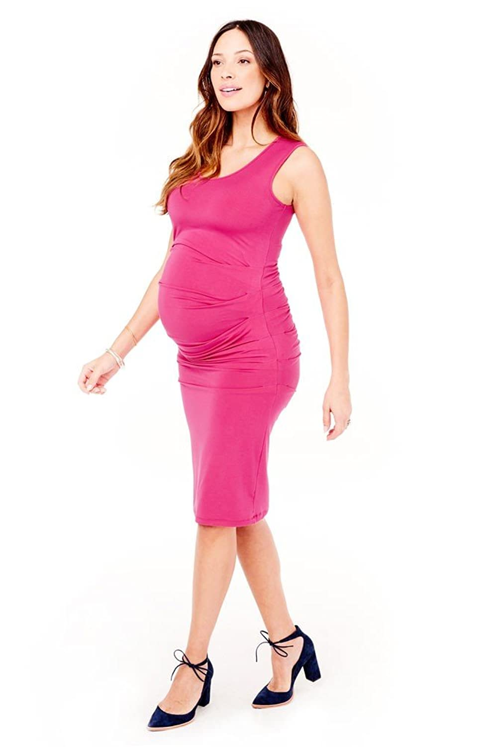 Ingrid isabel pleated tank maternity dress at amazon womens ingrid isabel pleated tank maternity dress at amazon womens clothing store ombrellifo Image collections