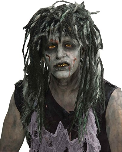 Rocker Zombie Adult Wig (Morris Costumes Men's WIG ROCKER ZOMBIE)