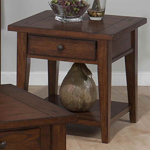 Jofran Square End Table with Drawer
