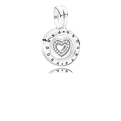 1316ff6be Pandora Women Silver Bead Charm - 792144CZ: Amazon.co.uk: Jewellery