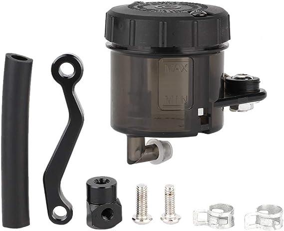Suuonee Motorrad Bremsflüssigkeitsbehälter Ölschale Zylinder Kupplung Tank Ölschale Für Motorrad Motorrad Atv Auto