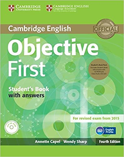 OBJECTIVE FIRST fourth edition - Student's pack with answers + CD-ROM