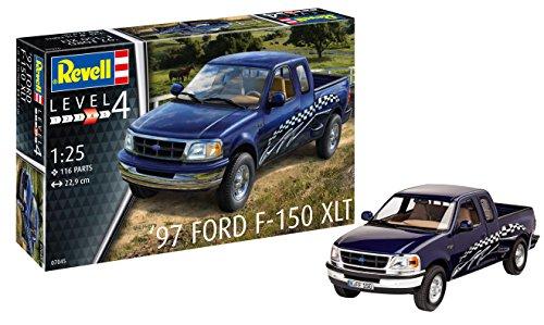 (Revell RV07045 Ford F-150 XLT 1997 Model Kit, Various, 1:25 Scale )