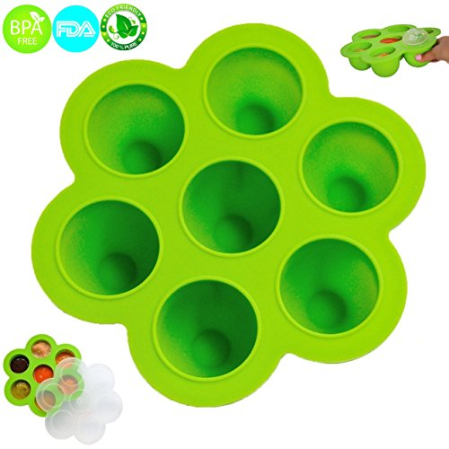 silicon baby food mold - 5