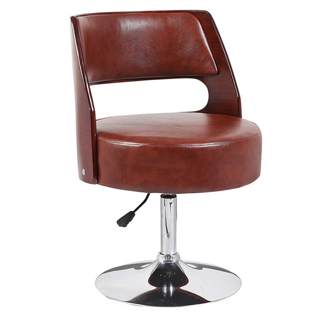 ZR- スツール ダイニング/オフィスチェアチェア(車椅子とリフト付き) - 色の選択 耐久性 (色 : Brown) B07MKF4TL8 Brown