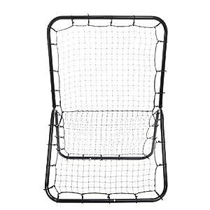 Pitchback Rebound Net, 6 x 4 ft Baseball and Softball Rebounder Net, Portable Multi-Sport Rebounder Pitch Back Net with Adjustable Target