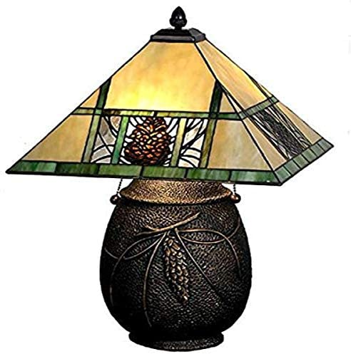 Meyda Tiffany 67850 Pinecone Ridge Table Lamp