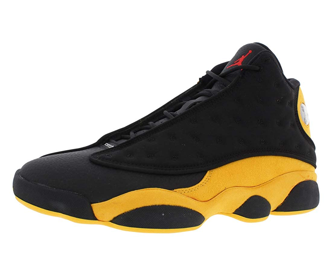 best sneakers 0541c 0702f Jordan Air 13 Retro Men's Basketball Shoes Black University Red 414571 035  (10)