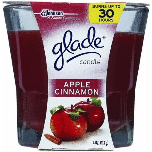 Glade Apple Cinnamon Scented Candle 3.8 oz by - The Mall Johnson City