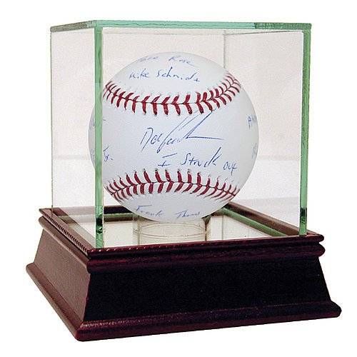 Dwight 'Doc' Gooden Signed MLB Baseball with I Struck Out: Pete Rose/Mike Schmidt/Frank Thomas/Ryne Sandberg/Andre Dawson/Ripken Jr./Barry Bonds/Griffey Jr. Inscription - Certified Authentic (Andre Dawson Autograph)