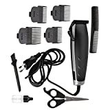 Ez Life Kemei Km-4702 Professional Electric Hair Trimmer Heavy Duty Grooming Set For Men