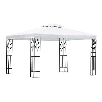 Amazon.com : Anself 10 X 13 Feet Double Roof Patio Gazebo with ...