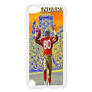 High Quality Phone Back Case Pattern Design 20Jerry Rice Popular Design- FOR Ipod Touch 5