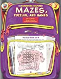 Mazes, Puzzles, and Games, Grade 2, McGraw-Hill Staff, 0768207118