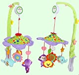 Toys Musical Travel Mobile Rattle Set For Babies Infants Toddler New Born Rotating Harmonious Musical Toy