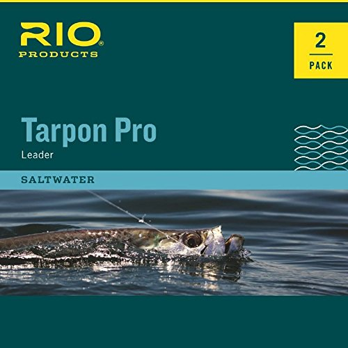 Rio Fly Fishing Pro Tarpon 20Lb Class 80Lb Fluorocarbon Shock Leaders, Clear Review