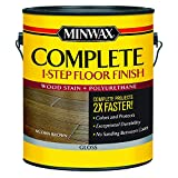 Best Hardwood Floor Finishes - Minwax 672020000 1G Gloss Acorn Brown Complete 1-Step Review