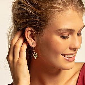 THOMAS SABO Women Silver Stud Earrings H2025-959-7