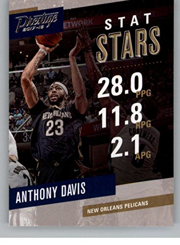 Amazon Com 2017 18 Panini Prestige Stat Stars 3 Anthony
