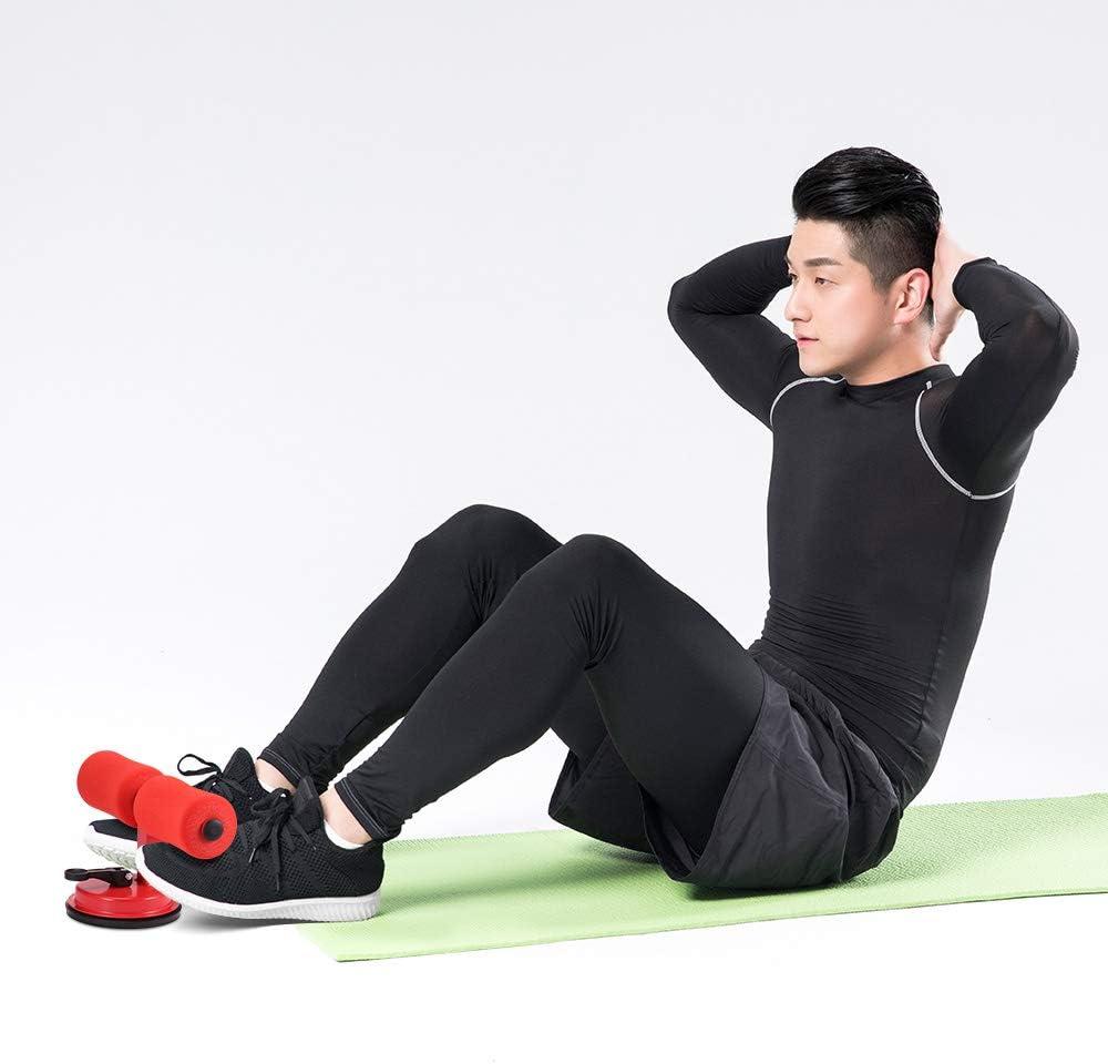 R/ücken Haushalts-Fitnessger/äte Beine /& Arme AOZBZ Sit Up Bar Saugung Sit-Up Bodenstange Verstellbare Sit-Up Bar Fitnessger/ät f/ür Bauchmuskeln Sit-Ups Bauchtrainer /Übungen Bauch