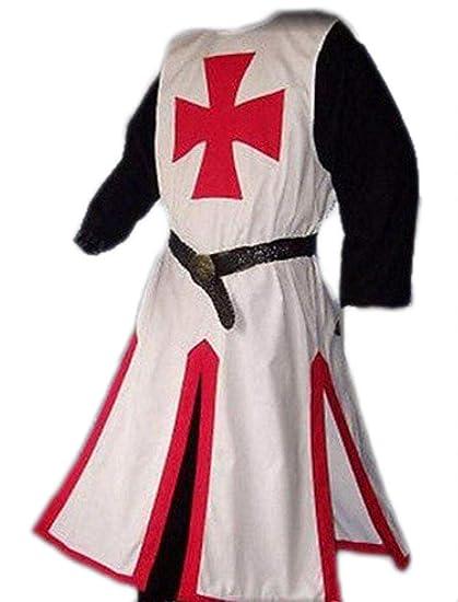 RHSML Disfraz De Halloween Templarios Medievales Disfraces De Halloween Guapo Terrorista