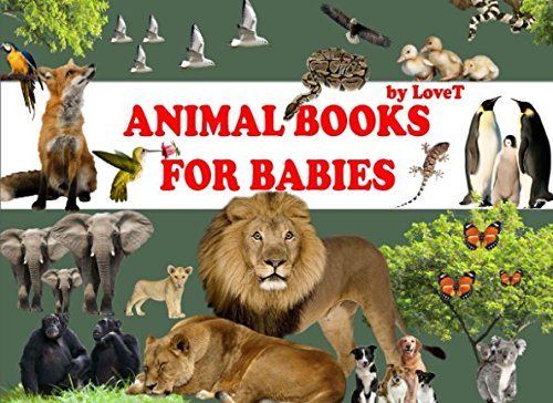 Animal books for babies: More 100 wild animals (Animals for children) (Animals 100 Wild)