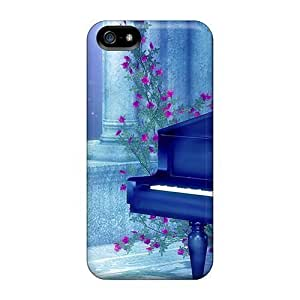 New Style 5/5s Protective Cases Covers/ Iphone Cases - Piano By Moonlight