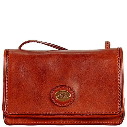 Rosso The Donna Story Bridge Ribes Tracolla Pelle A 18 Cm Borsa wZpzqw