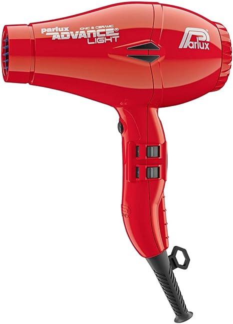 Parlux Advance Light Secador de pelo ionico, Rojo