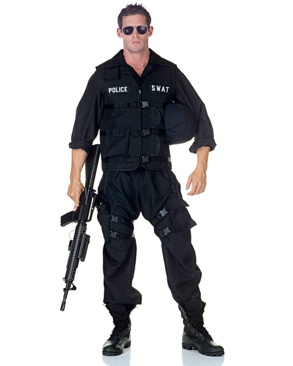 Horror-Shop S.W.A.T. Police Police Police Männer Kostüm als Berufsuniform f73d4c