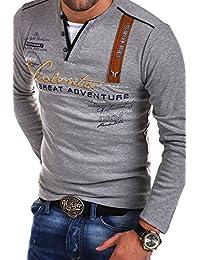 MT Styles Mens 2in1 Longsleeve Adventure Longsleeve R-0663
