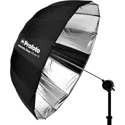 Profoto Deep Small Umbrella (33'', Silver) by Profoto